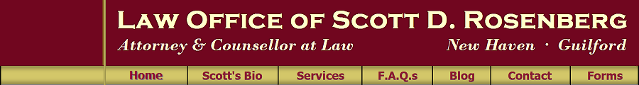Scott D. Rosenberg, Attorney at Law